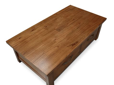 jigsaw puzzle table with drawers australia stonybrook mountain ash hardwood 2 drawer coffee table