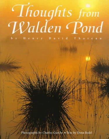walden pond book quotes walden henry david thoreau quotes quotesgram