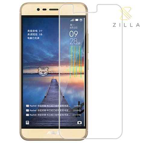 Tempered Glass Bening Asus Zenfhone 3 Max 5 2 Inc Zc520tl Protector zilla 2 5d tempered glass curved edge 9h 0 26mm for asus