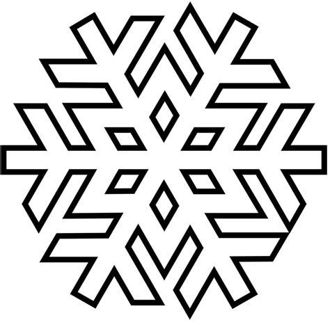 giant snowflake coloring page disegni per decorare con ghiaccia alimentipedia