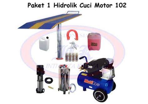 Harga 1 Paket Alat Cuci Motor paket alat cuci motor 1 hidrolik jual hidrolik cuci