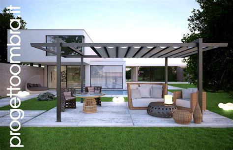 Allée De Jardin Moderne 4265 by Autoportante Con Tenda Apribile In Alluminio Per Terrazzi