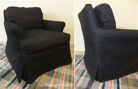 black slipcover the slipcover maker custom slipcovers tailored to fit