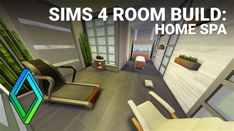 home spa room sims 4 home spa room build