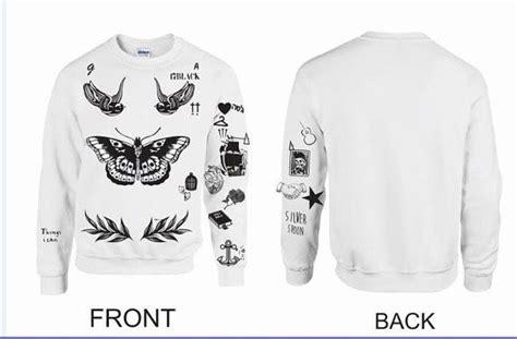 harry styles tattoos list updated version unisex crewneck sweatshirt harry styles