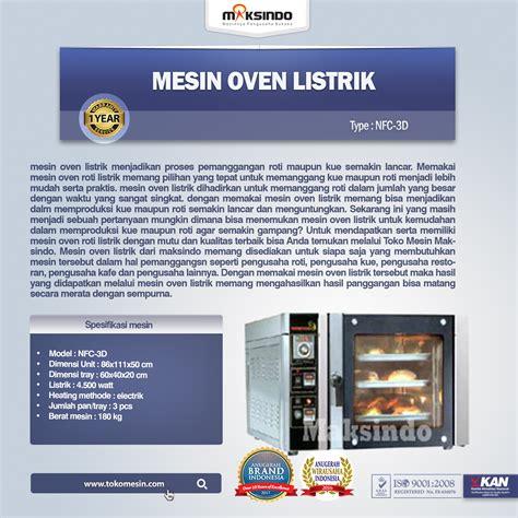 Oven Listrik Digital jual mesin oven roti dan kue model listrik di surabaya