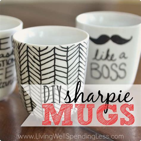 tutorial design mug diy sharpie mugs dishwashers tutorials and comment