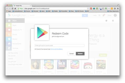 Where Can U Buy Itunes Gift Cards - how to apply a google play gift card to your account android central