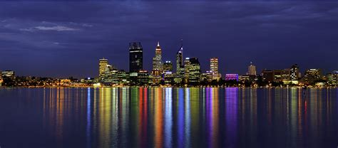 lights australia city of perth lights 171 seascapes 171 galleries 171 tony