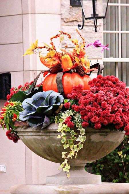 decorated cooking urn 1975 best images about decorating for fall on fall window boxes fall front doors