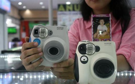 Kamera Canon Langsung Cetak senangnya foto menggunakan kamera artis korea tribun jateng