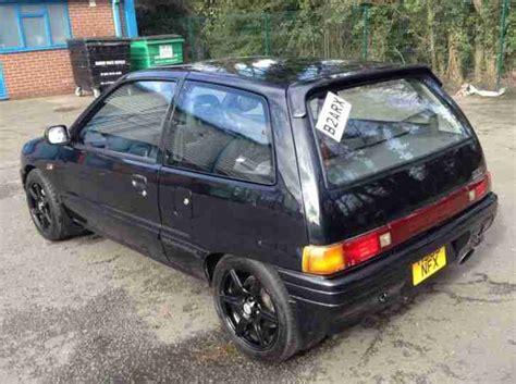 daihatsu 1991 charade gtti black turbo gti retro like