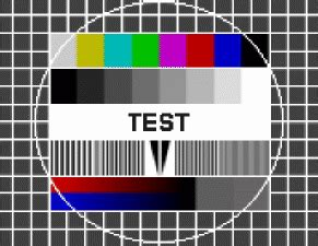 test pattern for led tv w4maf callsign lookup by qrz ham radio
