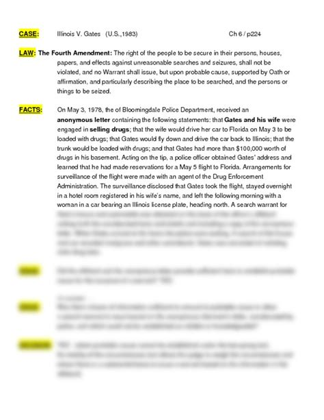 case brief template word brief final as writing sle 5