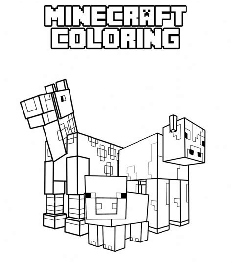 minecraft coloring pages printable minecraft coloring pages best coloring pages for