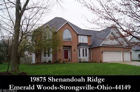 strongsville ohio homes for sale 19875 shenandoah rdg