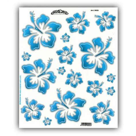 Fahrrad Aufkleber Blumen by Hbs Fahrrad Aufkleber Hawaii Blumen Blau Kaufen Bei Hbs