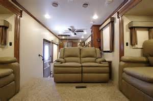 5th wheel cers with front living room 2017 bighorn 3750fl rv fifth wheel front living room 30 000 00 picclick
