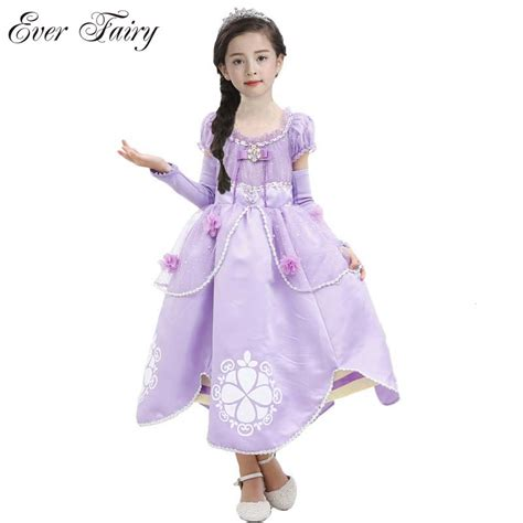 Supplier Maryam Dres By Shofiya aliexpress buy princess sofia dress sofia princess purple dress big petals