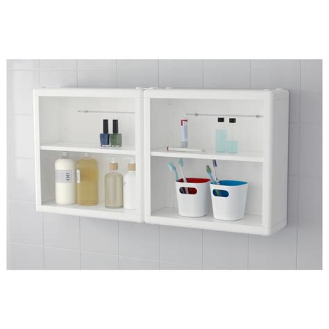 dynan wall shelf white 40x15x40 cm ikea