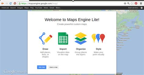 maps engine android er maps engine lite beta launched