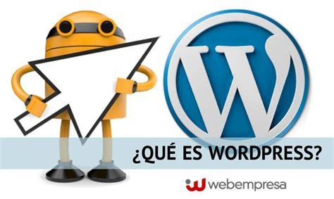 imagenes html wordpress qu 233 es wordpress caracter 237 sticas principales