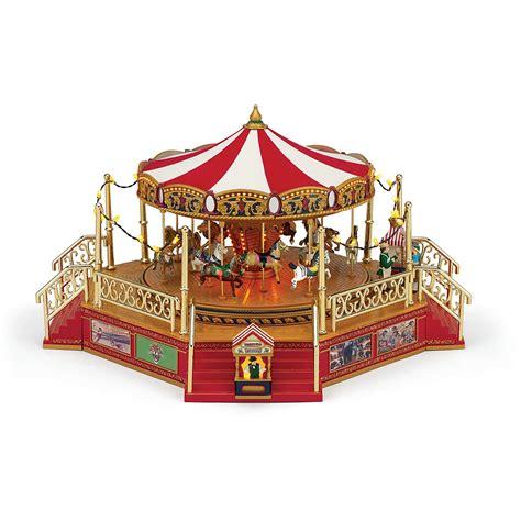 best christmascarpusel mr world s fair carousel with boardwalk bloomingdale s