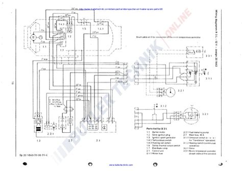 webasto hl18d wiring diagram 28 images webasto