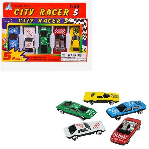 Die Cast Truck Car Build City tr17965 5pc die cast car set