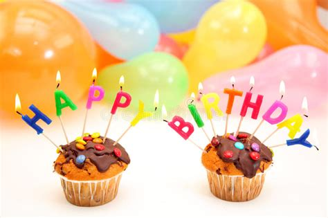 candele buon compleanno candele della lettera di buon compleanno fotografia stock