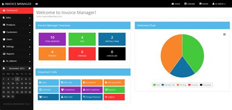 codecanyon templates simple invoice manager invoice exle