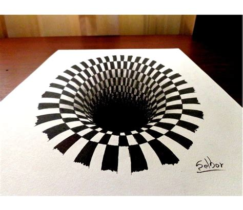 ilusiones opticas hacer como dibujar una ilusi 243 n 243 ptica paso a paso selbor
