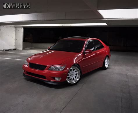 lexus is300 lowered 2002 lexus is300 esr sr09 megan racing lowering springs
