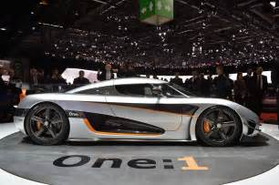 One 1 Koenigsegg Geneva Koenigsegg One 1 Can Still Stop The Show The