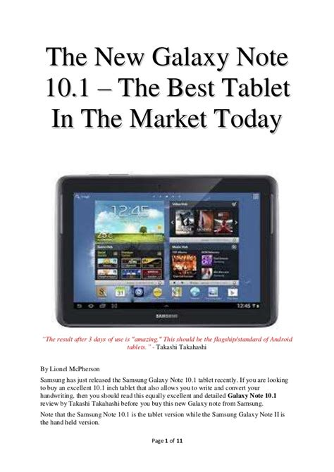 best tablet on market the new galaxy note 10 1 the best tablet in the market today