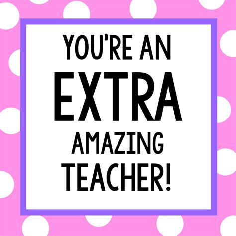 Open Shower Ideas teacher appreciation gifts candy bar gift tags fun squared
