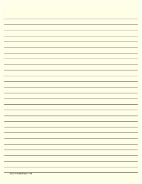 printable yellow lined paper printable lined paper light yellow wide black lines