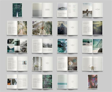 layout artist indesign juniper adobe indesign magazine and portfolio template
