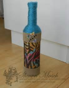 Rhinestone embellished diy wine bottle craft favecrafts com