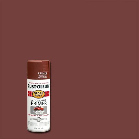 home depot spray paint for cars rust oleum stops rust spray paint flat brown 12 ounce