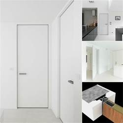 Modern interior doors with an invisible door frame anyway doors