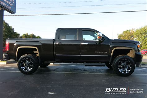 gmc 2500hd rims gmc 2500hd custom wheels fuel dune 20x et tire