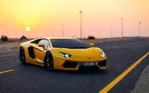 Yellow Lamborghini Images Car Yellow Lamborghini Aventador Hd Wallpaper By Silar91