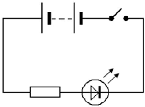 circuit symbol for light emitting diode electronics