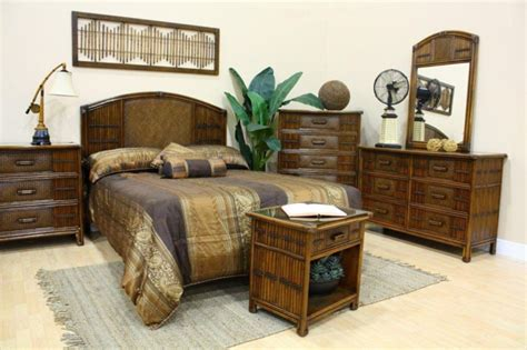 bamboo bedroom rattan and bamboo bedroom furniture sets