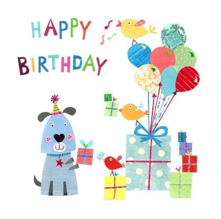 Happy Birthday Clip With Dogs Free happy birthday clip cliparts