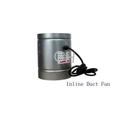 ac vent fan booster 8 inch 240cfm air duct inline hydroponic booster fan