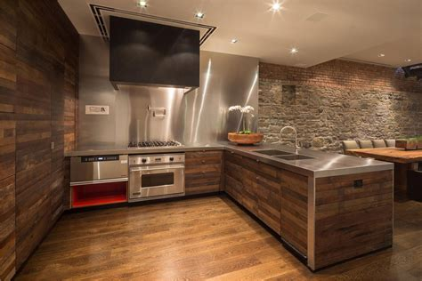 stainless steel kitchen cabinets 2013 kitchen wood stainless steel converted townhouse in