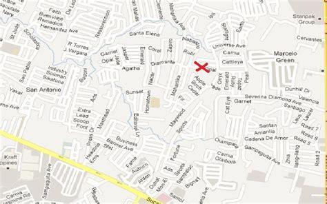 map of paranaque city paranaque city map images