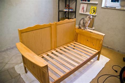 futon upcycle remodelaholic upcycled crib into